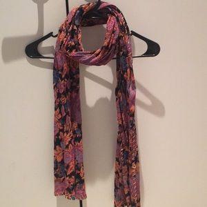 Free People floral scarf